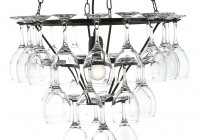 Wine Glass Chandelier Frame