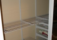 wire shelving units for closets