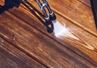 Wood Deck Cleaner Recipe