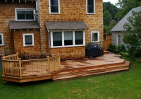 Wood Deck Color Ideas