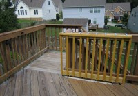 Wood Gates For Decks