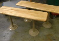 Wood Locker Room Benches