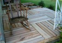 Wood Pallet Deck Ideas