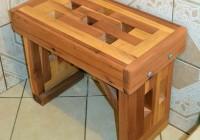Wood Shower Bench Diy