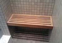 Wood Shower Bench Home Depot