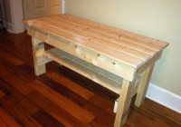 Wooden Bench Plans Free