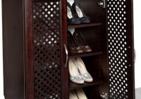 Wooden Closet Shoe Rack