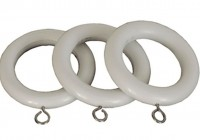 Wooden Curtain Rings 28mm