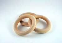 Wooden Curtain Rings 3 Inch