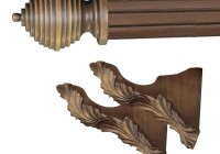 Wooden Curtain Rod Brackets Sale