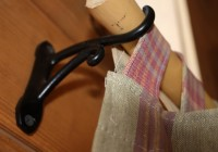 Wooden Curtain Rod Hangers