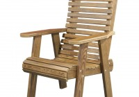 Wooden Deck Chair Plans