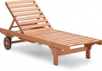 Wooden Deck Lounge Chairs