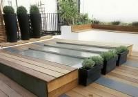 wooden deck plans free
