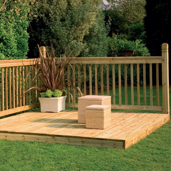 Permalink to Wooden Deck Railing Ideas