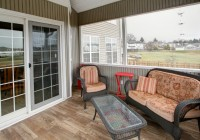 Wooden Deck Tiles Screened Porch