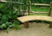 Wooden Garden Bench Seat