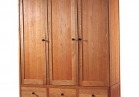 Wooden Portable Closet Wardrobe