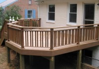 Wooden Railings For Decks