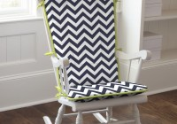 wooden rocking chair cushions for nursery