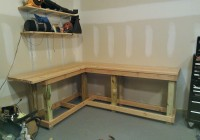 Work Bench Ideas For Garage