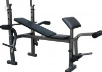 Workout Bench Set With Weights