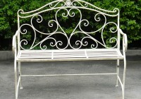 Wrought Iron Benches Garden