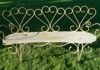 Wrought Iron Benches Uk