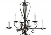 Wrought Iron Candle Chandelier Uk