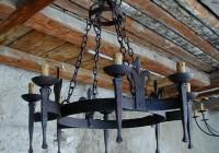 Wrought Iron Chandeliers Australia