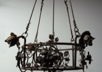 wrought iron chandeliers australia