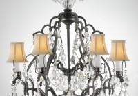 Wrought Iron Chandeliers With Shades
