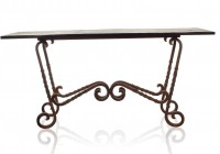 Wrought Iron Console Table