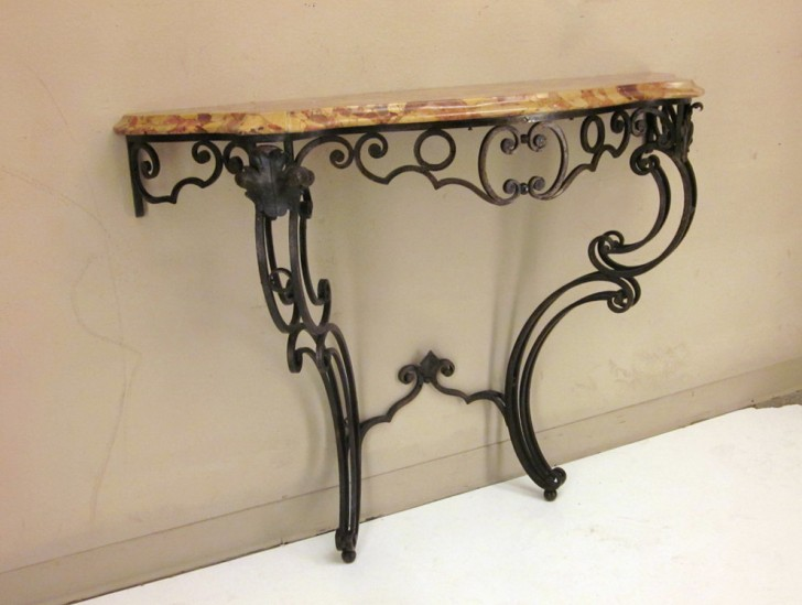 Permalink to Wrought Iron Console Table Uk