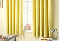 Yellow Blackout Curtains Nursery