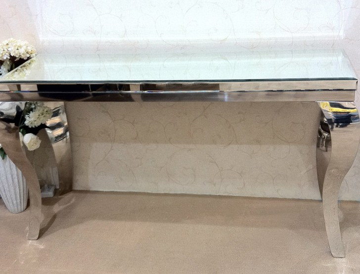 Permalink to Z Gallerie Mirrored Dining Table